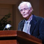 W.S. Merwin reading at the Library of Congress