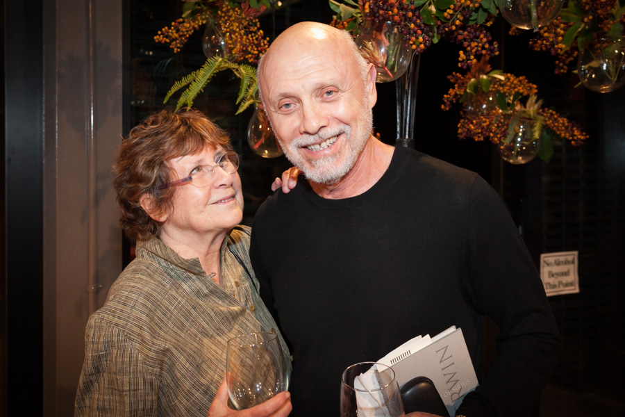 Hector Elizondo with friendly, kind, sympathetic, Wife Carolee Campbell