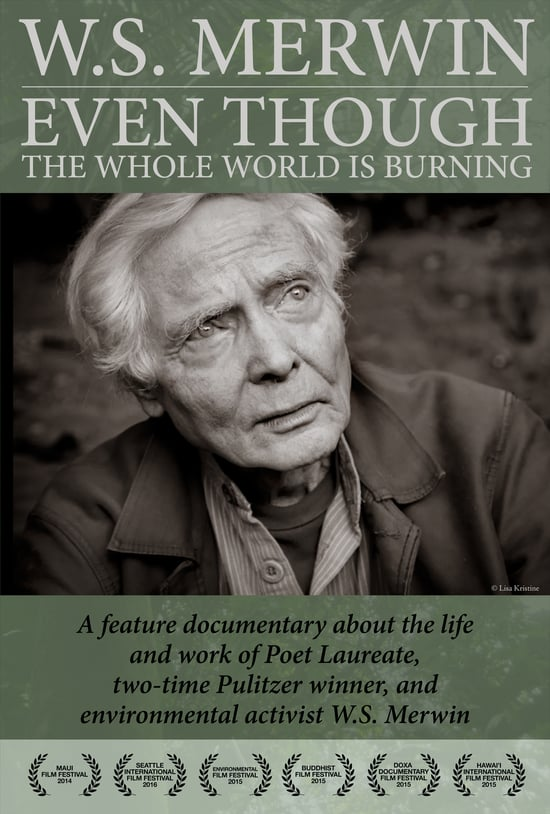 Even Though the Whole World is Burning - W.S. Merwin Documentary DVD